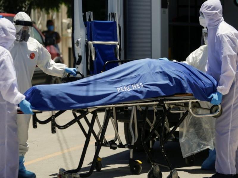 Fallecen más pacientes COVID en hospitales del gobierno e IMSS