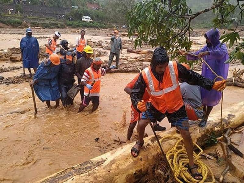 Fallecidos tras deslave en India