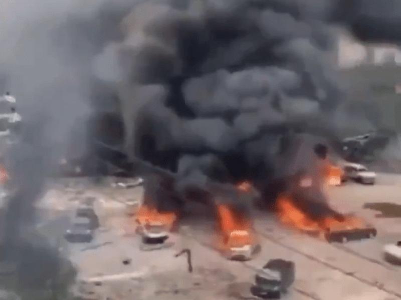 Fallecidos tras explosión de pipa en China