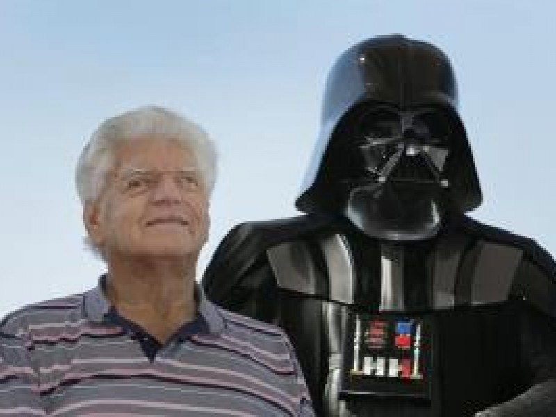 Falleció David Prowse, quien interpretó a Darth Vader