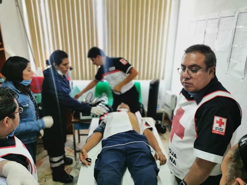 Falsas alarmas generan perdidas económicas a Cruz Roja
