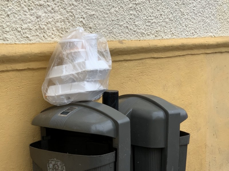 Falta cultura para depositar la basura