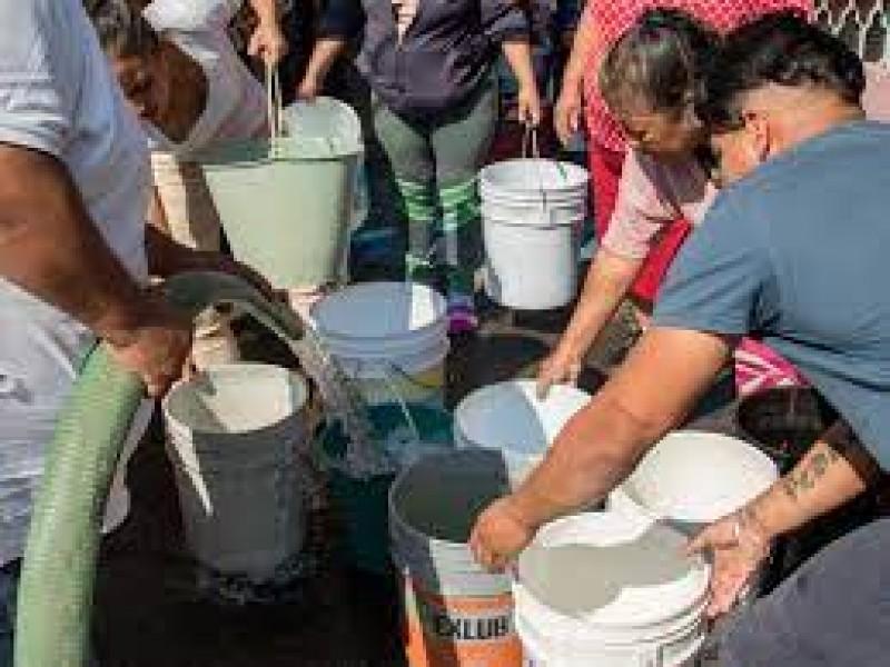 Falta de agua se convirtió en protagonista de campaña electoral