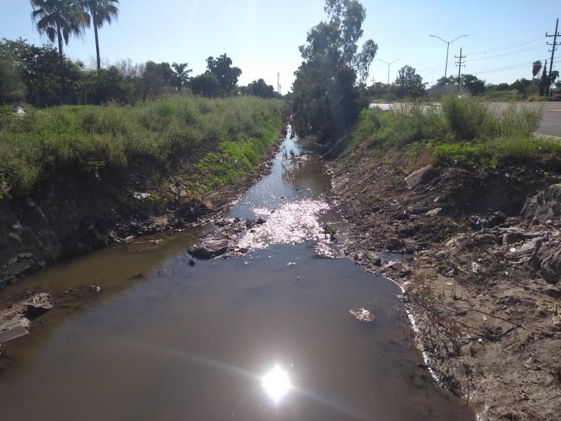 Falta de mantenimiento en drenes, un riesgo latente
