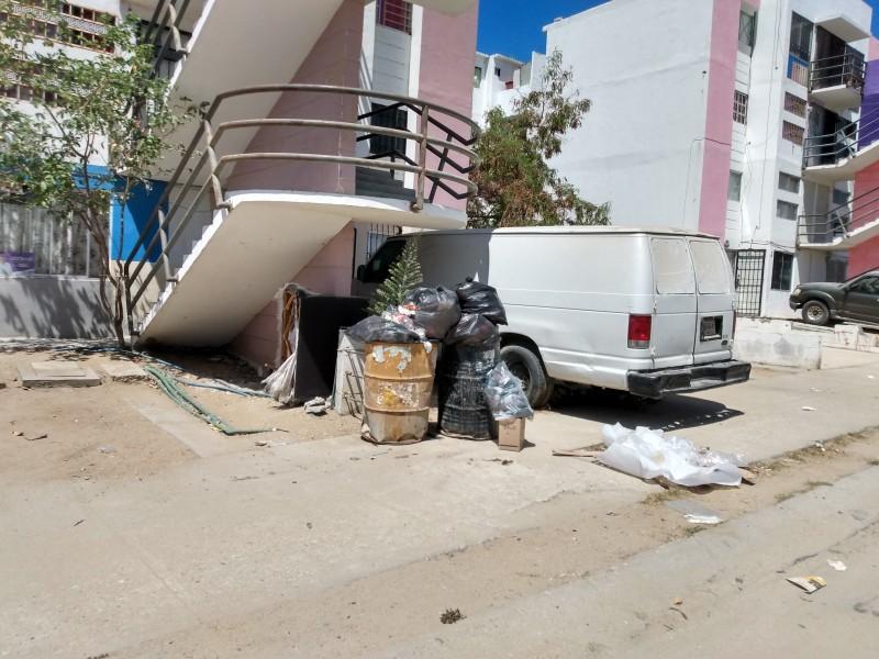 Falta de recolección de basura provoca molestia