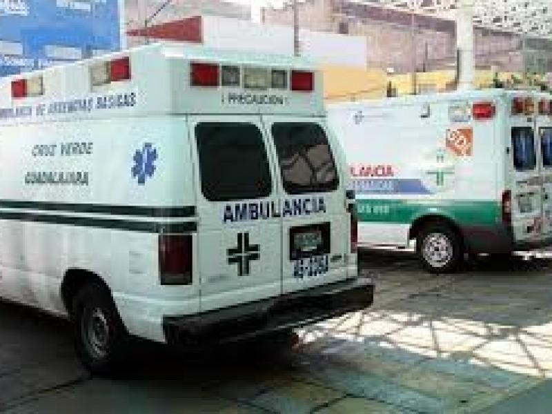 ZMG con 68% de rezago en ambulancias
