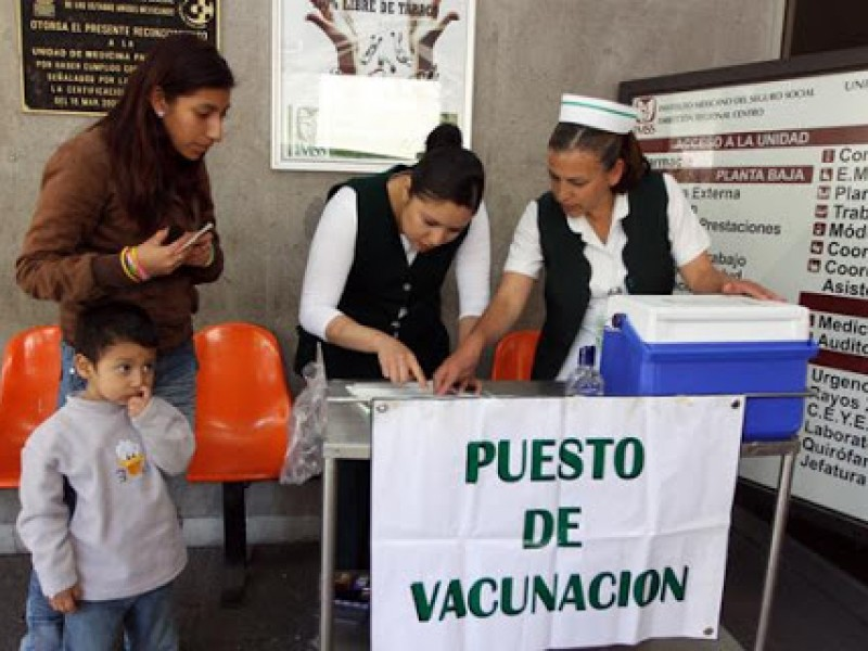 Faltan niños por vacunar contra la Influenza: Jurisdicción Sanitaria