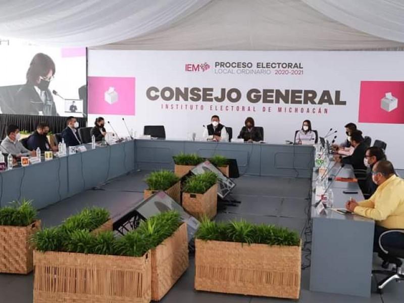 Faltantes 17 comités electorales para cerrar cómputos en Michoacán