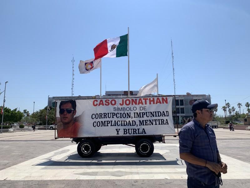 Familiares del joven  Jonathan Hernandez exigen justicia