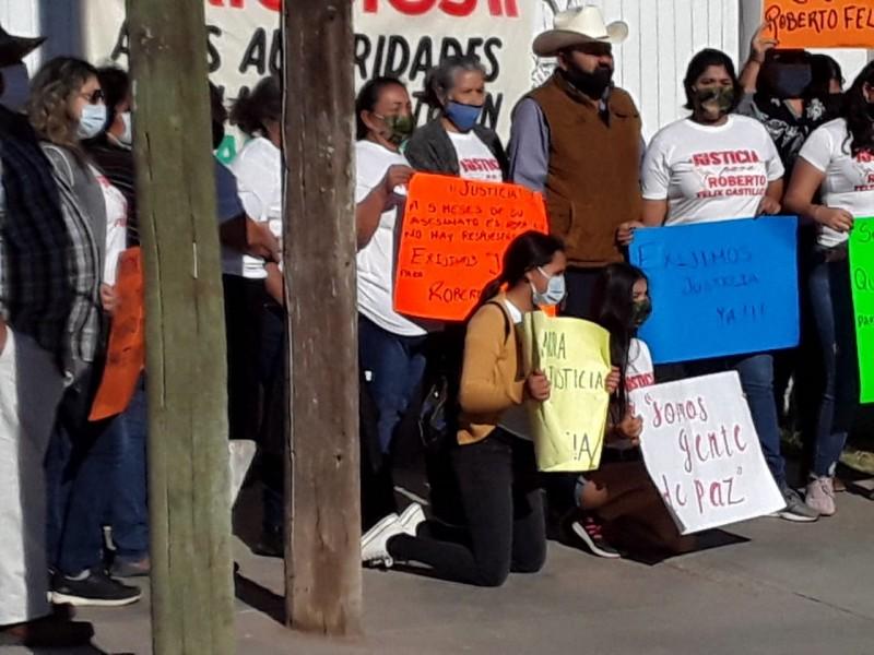 Familiares del profesor Roberto Félix exigen se esclarezca su homicidio