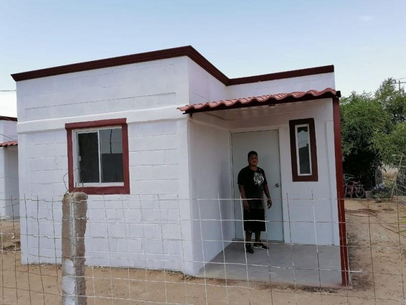 Familias afectadas por siniestro reciben un nuevo hogar en Etchojoa