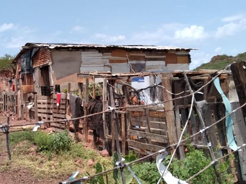 Familias de Guaymas sufren la extrema pobreza
