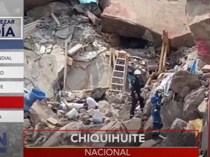 Familias desplazadas del Chiquihuite reciben apoyo de 30,000 pesos