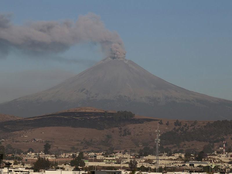 Fase Amarilla 3, la alerta del volcán Popocatépetl