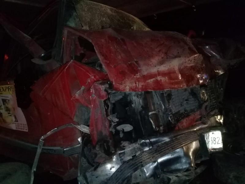Fatal accidente cobra la vida de 4 personas