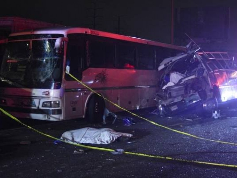 13 muertos por trágico accidente en la México-Pachuca