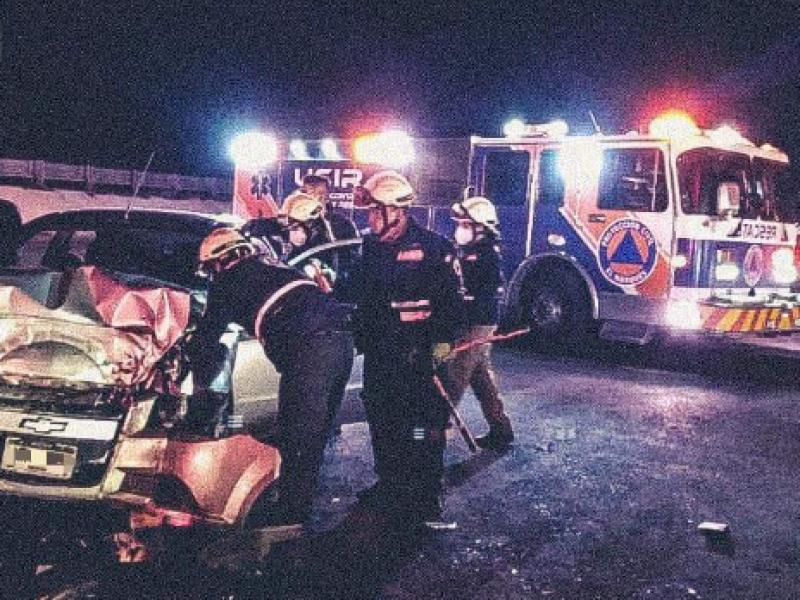 Fatal accidente en la 57