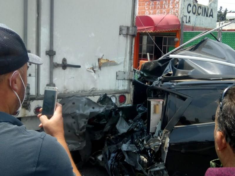 Fatal accidente en la México-Toluca deja 4 muertos
