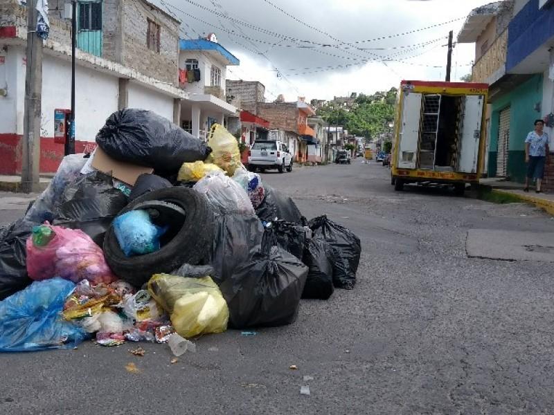Falta de pagos provocó falla en recolección de basura