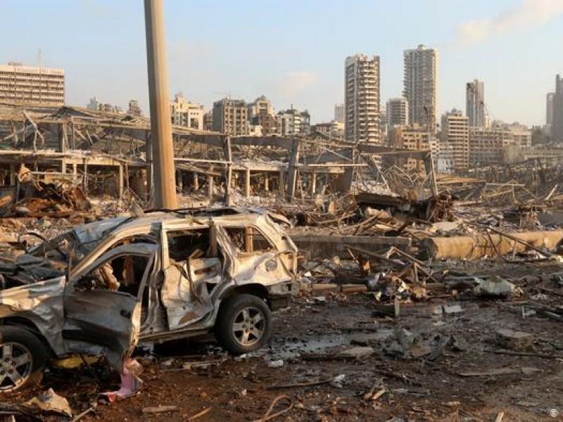 FBI investigará causas de la explosión en Beirut