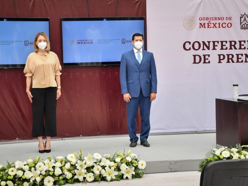 Federación invirtió más de 432 mdp en Guadalupe