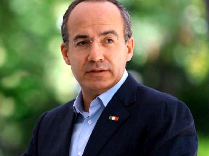 Felipe Calderón dice que no teme ser enjuiciado por Corrupción