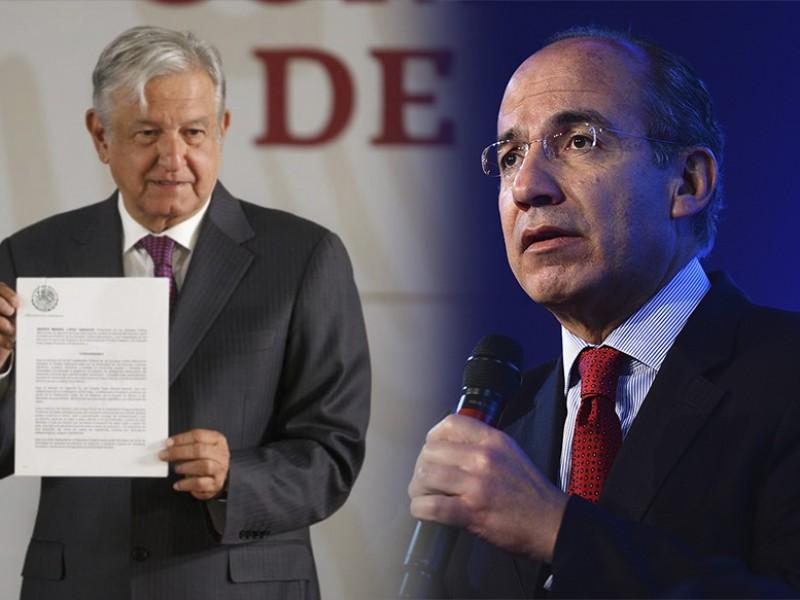 Felipe Calderón pide seguridad para su familia