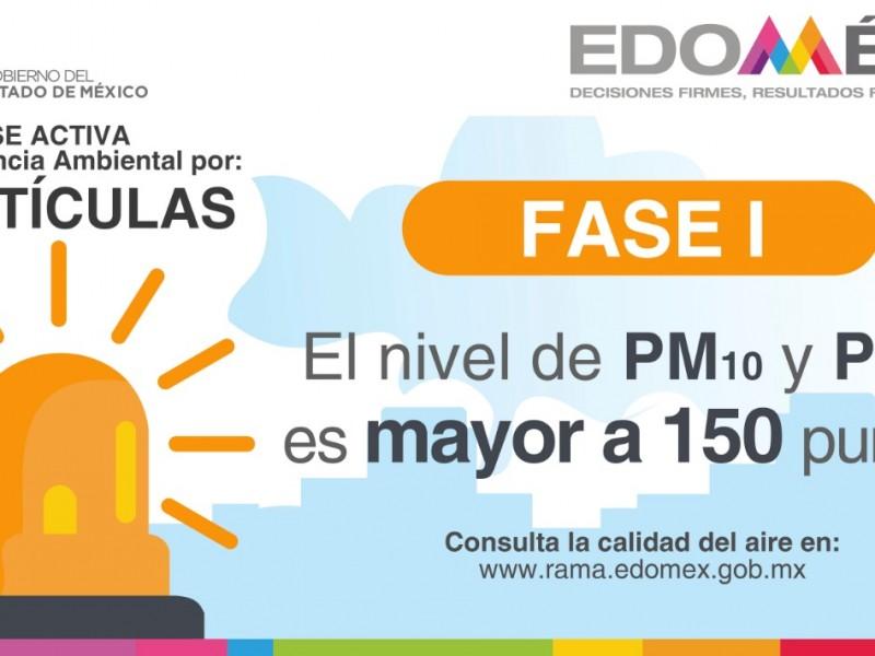 Decretan contingencia ambiental en Toluca