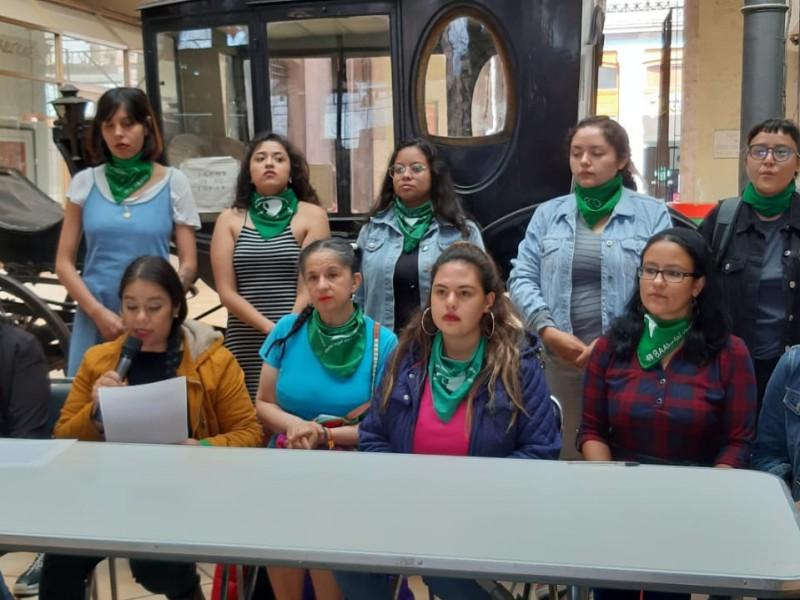 Feministas convocan a marcha pro aborto en Zacatecas