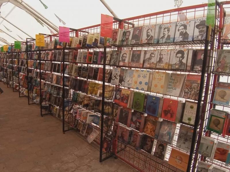 Feria del libro hasta el 24 de Octubre