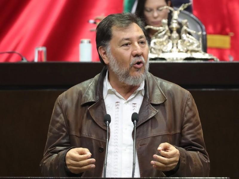 Fernández Noroña da positivo a COVID-19