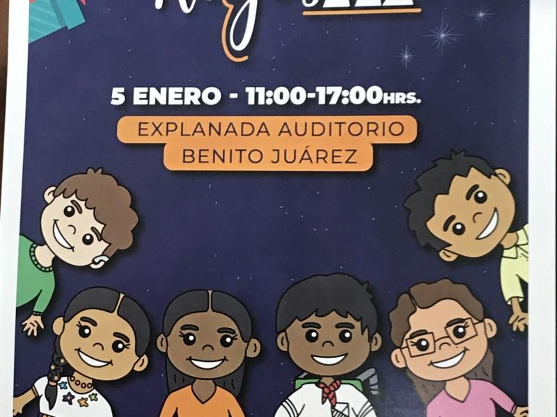 Festejarán día de Reyes en Auditorio Benito Juárez