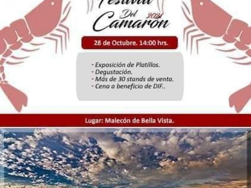 Festival del Camarón: 28 de octubre en Empalme