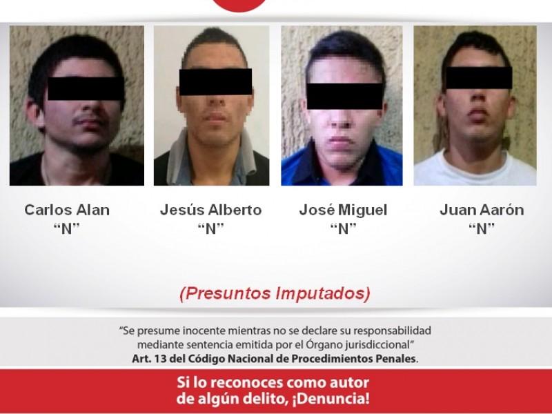 Detienen a presunta banda de secuestradores