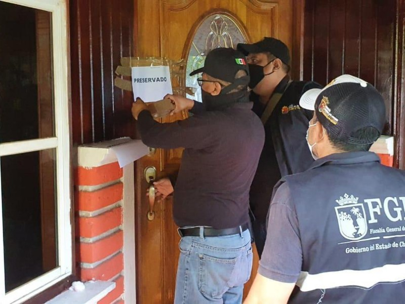 FGE realiza cateos y detenciones en Tapachula