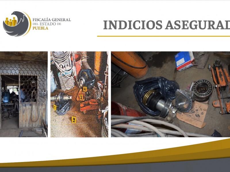 FGE recuperó piezas de la Estrella de Puebla