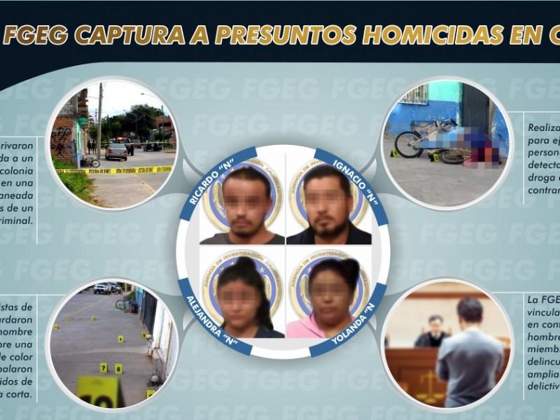 FGEG captura célula criminal usada para ejecutar a vendedores dedroga
