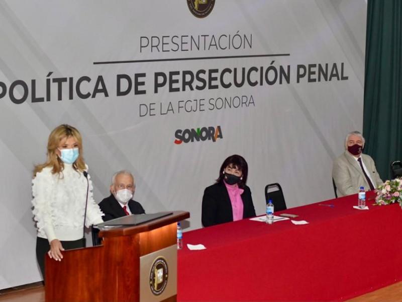 FGJS cuenta con una política de persecución penal incluyente