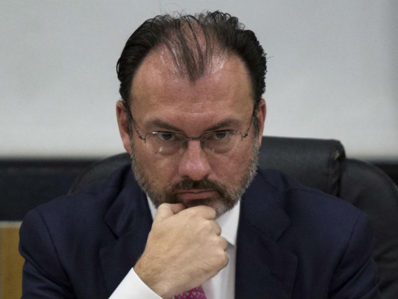 FGR alista una nueva solicitud de arresto contra Videgaray