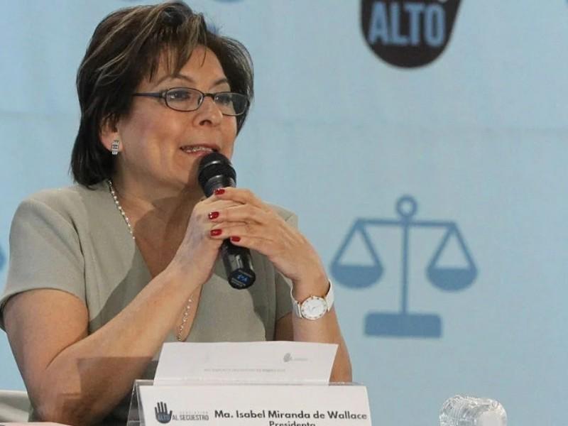FGR investiga a Isabel Miranda de Wallace por falsas declaraciones