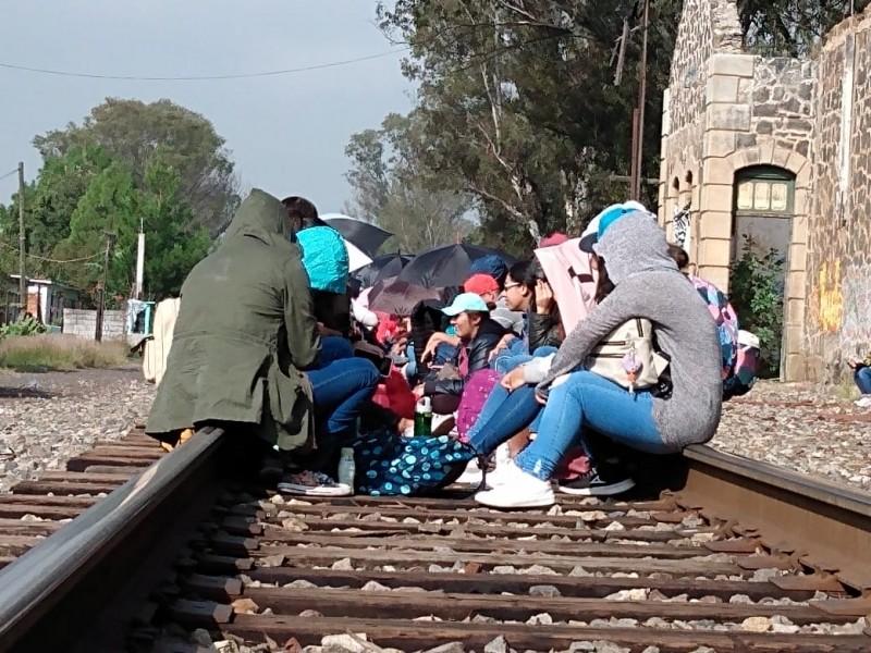 FGR investigará toma de vías ferreas en Tiripetío