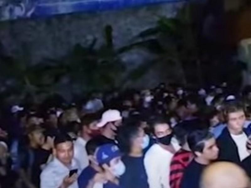 Fiesta de 300 personas fue suspendida en Acapulco