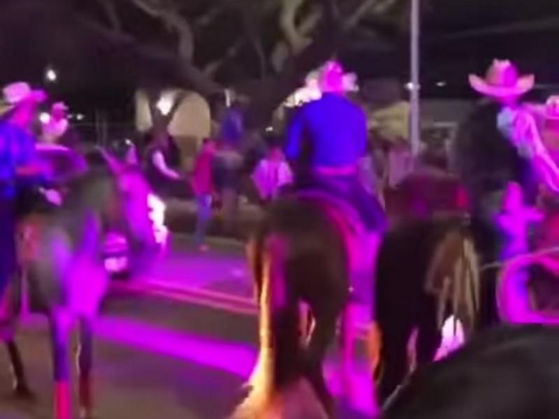 Fiestas religiosas y cabalgatas en Comala pese a Covid-19
