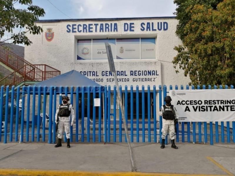 Fin de semana: 4 fallecimientos por COVID19 en hospital general