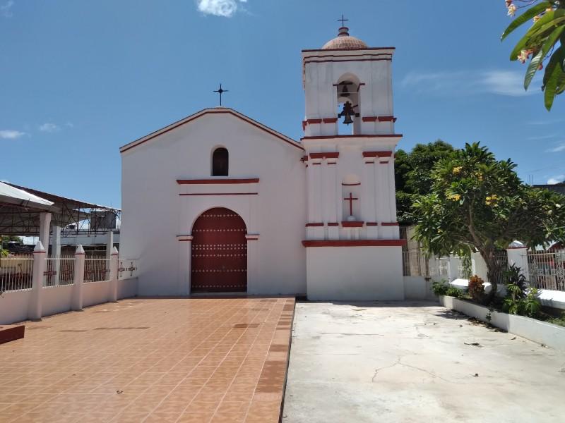 Finaliza restauración de 3 inmuebles religiosos en Tehuantepec