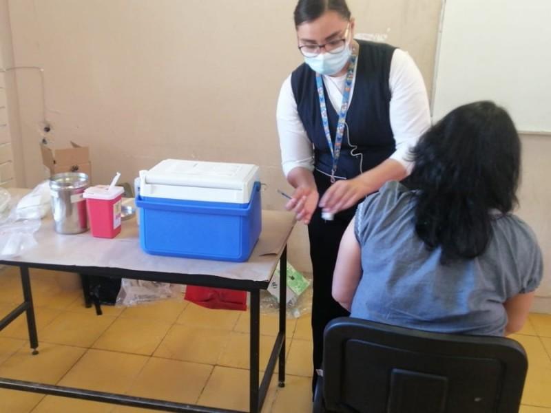 Finaliza vacunación a