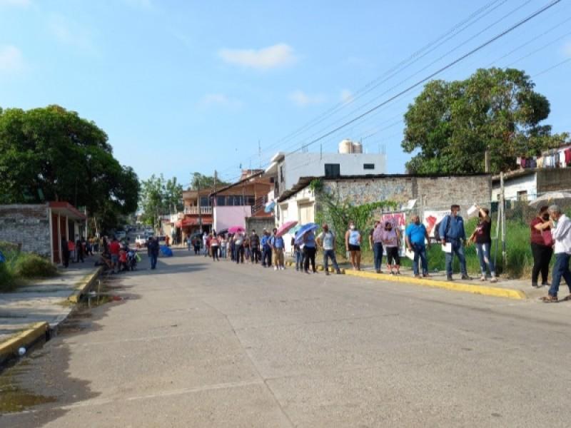 Por finalizar jornada de Vacunación Covid en Tuxpan