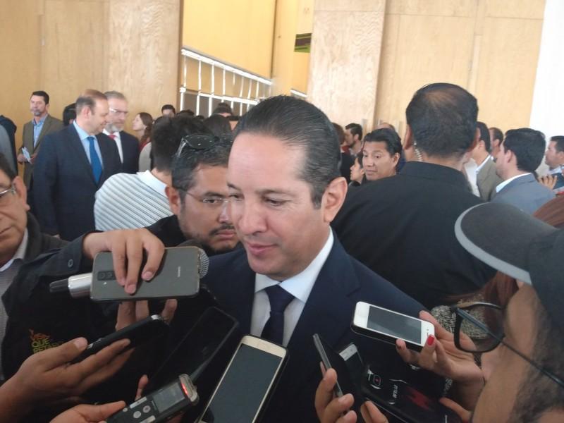 Finanzas sanas en Querétaro afirma gobernador
