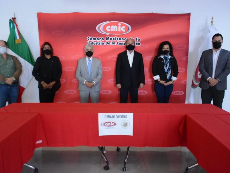 Firma Convenio CMIC con el Consejo de Valuadores