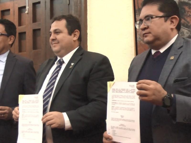 Firma convenio UAZ con Universidad de Honduras
